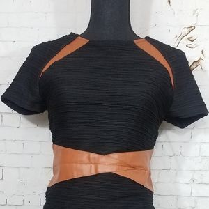 New york and company black dress